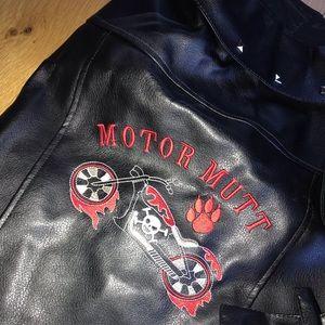 🎃 Dog Costume - Biker Jacket 🤘